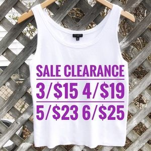 TALBOTS White Shell SALE CLEARANCE 3 for 15